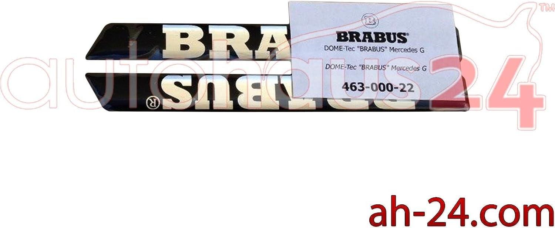 ORIGINAL BRABUS SIDE LOGO BADGE EMBLEM SET MERCEDES G CLASS W463 G500 G55 G63 G