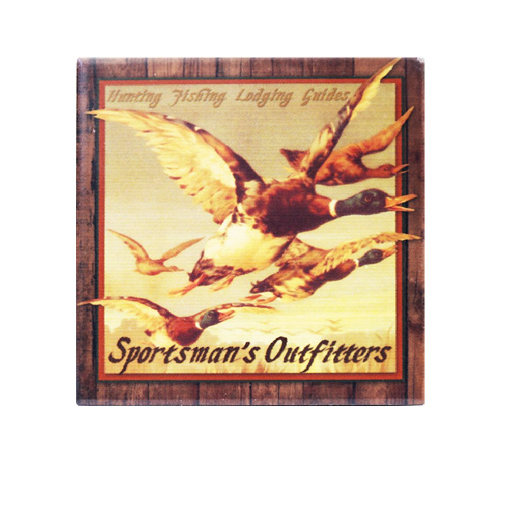 Amazon.com: Ceramic Decoration Tile, Sportman, Flying Ducks Size 6 ...