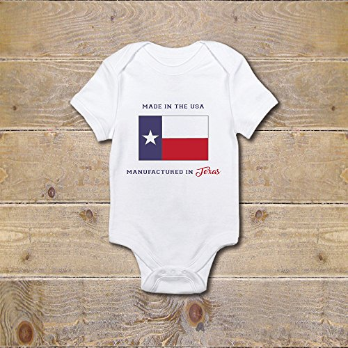 Baby Onesie Texas Made In USA