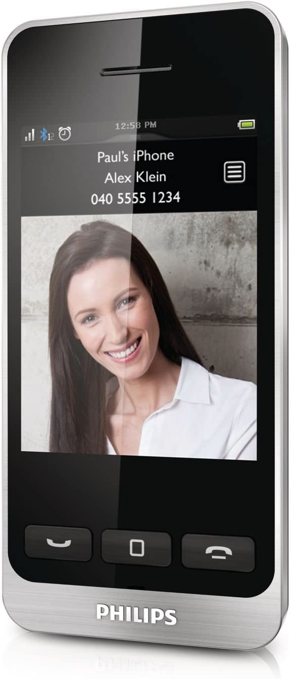 Philips S10A - Teléfono inalámbrico (Conexión Bluetooth, tecnología DECT), negro: Amazon.es: Electrónica