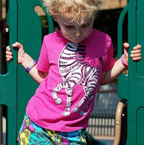 Peek-A-Zoo Toddler Short Sleeve Tshirt - Tiger Orange - 5T by Peek-A-Zoo (Image #4)
