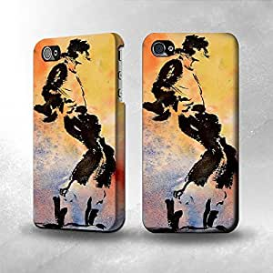 Apple iPhone 4 / 4S Case - The Best 3D Full Wrap iPhone Case - Moon Walk Art Painting