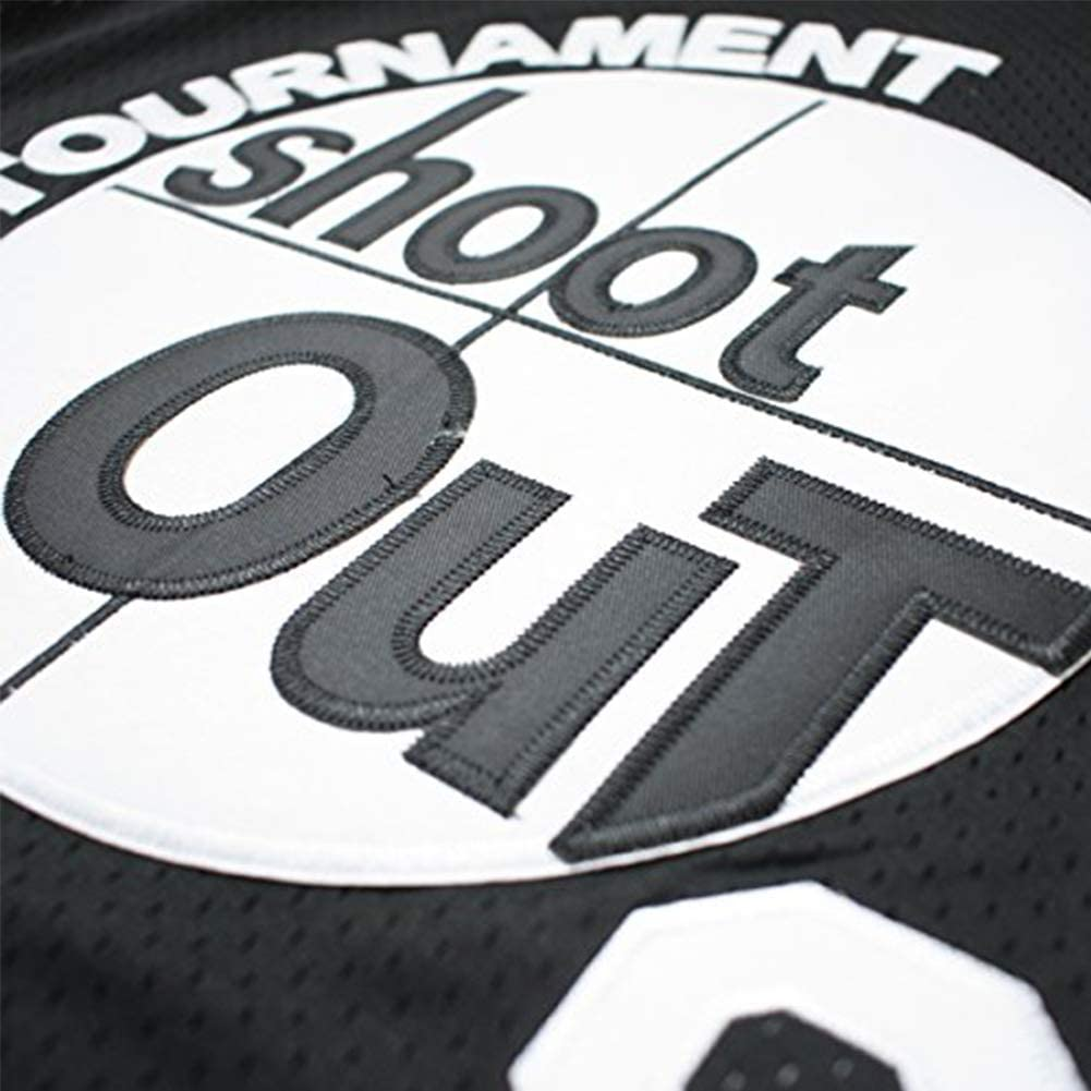 oldtimetown Tournament Shoot Out Birdmen Basketball Jersey S-XXXL Black,Stitched Letters and Numbers