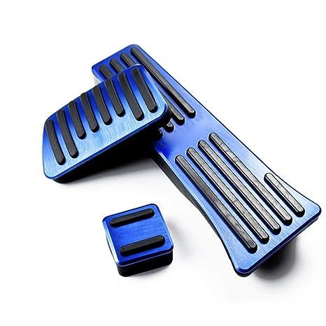 Pedal de Freno de Gas Pedal de Gas Durable 3 UNIDS Aluminio Controles de Vehículo Pieza
