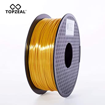 TOPZEAL Filamento de impresora 3D, filamento PLA similar a la seda ...