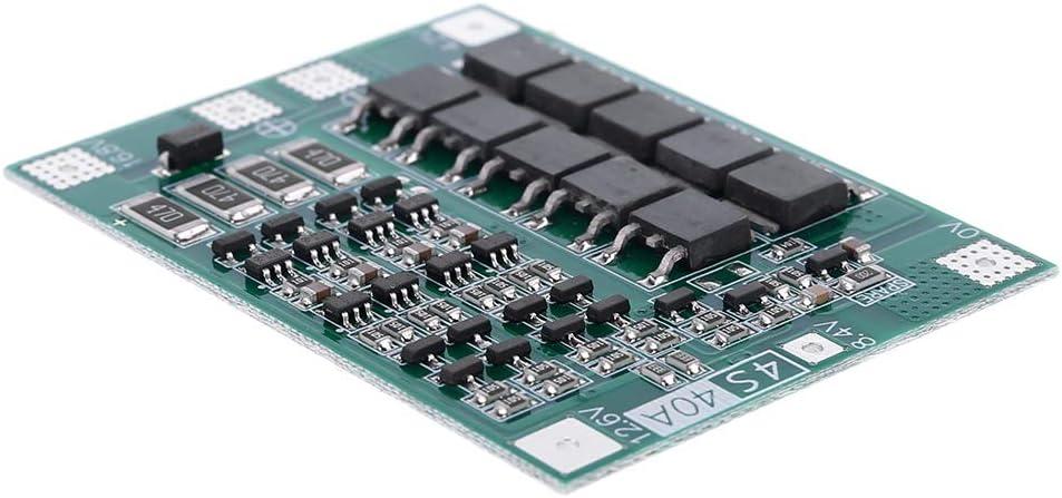 4s MYA bater/ía de Litio 18650 Panel de protecci/ón de bater/ía Cargador de Tarjeta de protecci/ón PCB BMS Carga equilibrada para m/ódulo de celda de Motor 14,8 V 16,8 V 40 A