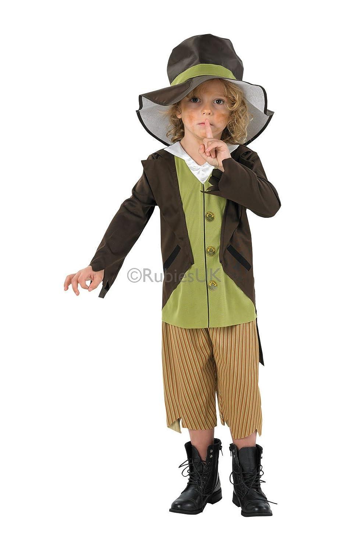 Fancydressfactory - Disfraz de victoriana para niña, talla S ...