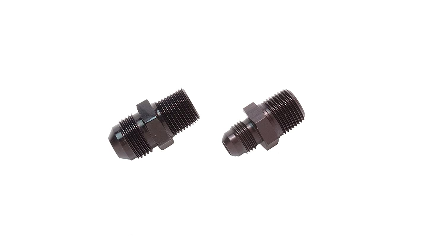 Aeromotive 15616 3//8 NPT//AN-08 Male Flare Adapter fitting