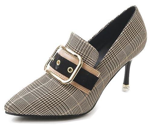 Easemax Femme Beau Lanière Bout Pointu Escarpins  Amazon.fr  Chaussures et  Sacs d2c5ffa7885d