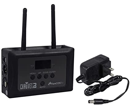 Chauvet DJ FLARECON AIR Freedom Series Wi-Fi Receiver/Wireless DMX  Controller with iOS and Android App Control