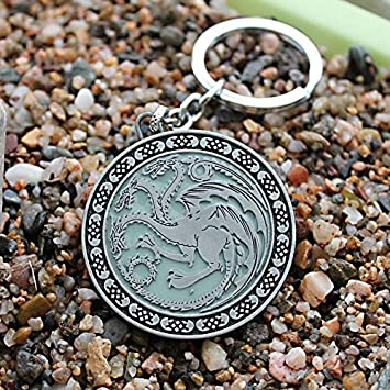 Amazon.com : Key Chains - The Song of Ice and Fire Game of ...