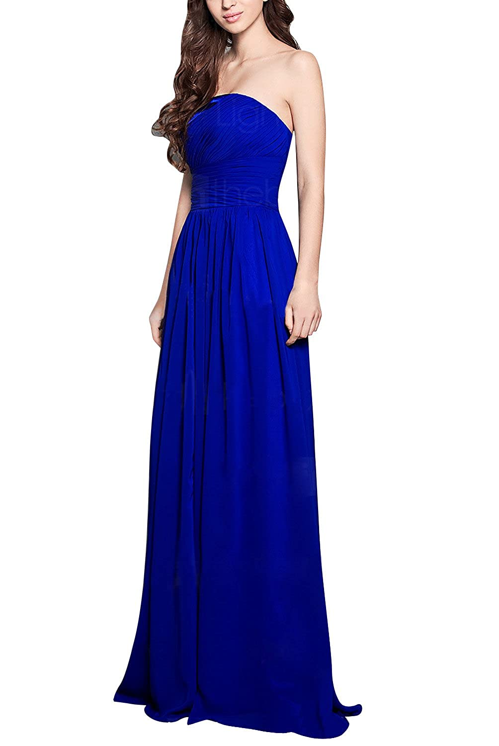 Wedtrend women's Bridesmaid Prom Dresses Long Chiffon Formal Evening Party Cocktail Dress