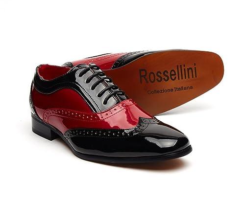Rossellini Zapatos de Cordones Para Hombre, Color Multicolor, Talla 44