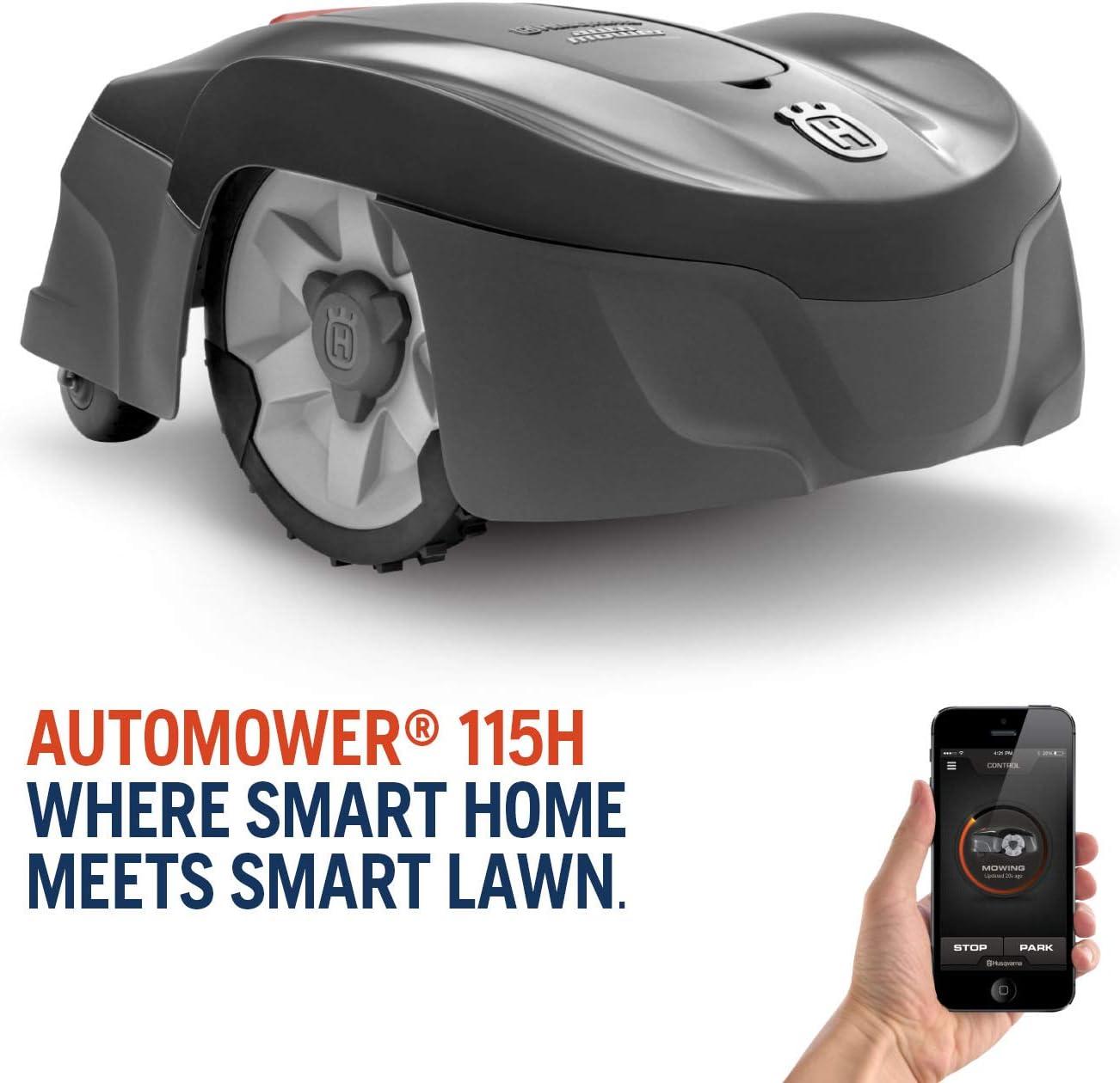 best Husqvarna Automower 115H Robotic Lawn Mower