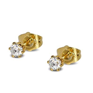 flat round white frosted gold stud diamond earrings cut p asp
