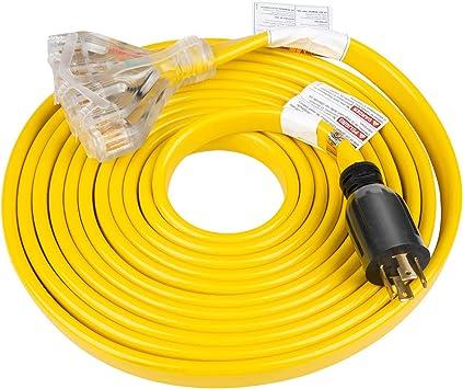 Nema L14-30P mâle Twist Lock 4 Câbles Cordon d/'alimentation Connecteur 30 A 125V-250V nouveau