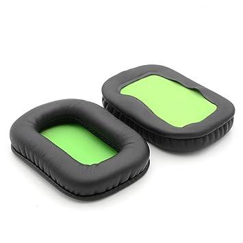 gdlhsp almohadillas para los oídos suaves almohadillas 1 par de repuesto para Mad Catz Tritton Kunai