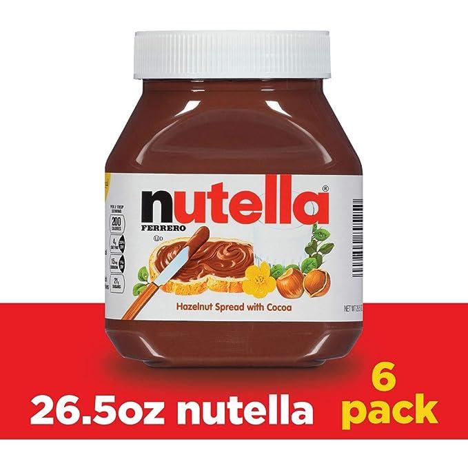 Nutella 美味榛子可可味面包涂抹酱