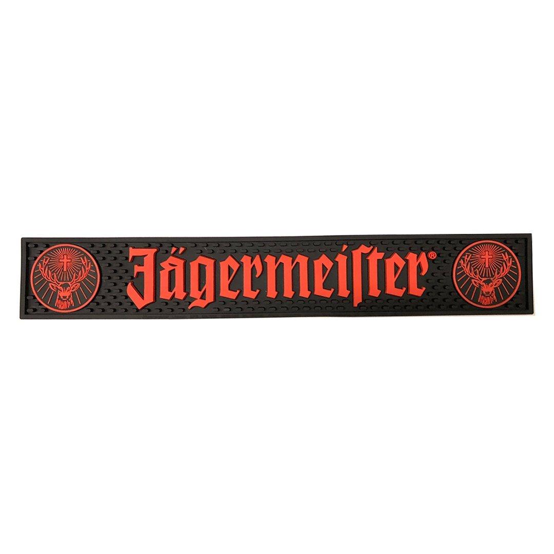 Jagermeister Black & Orange Logo Bar Mat