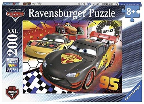 Ravensburger - 12819 8 - Puzzle - Cars, Sur La Piste de Course - 200 Pièces