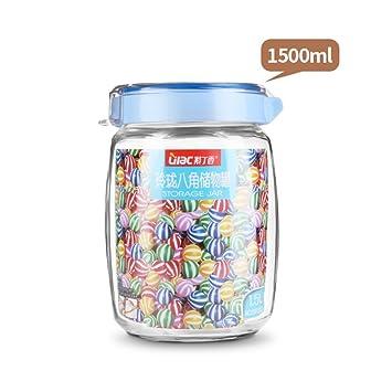 Latas selladas de vidrio A prueba de humedad [jar de ...