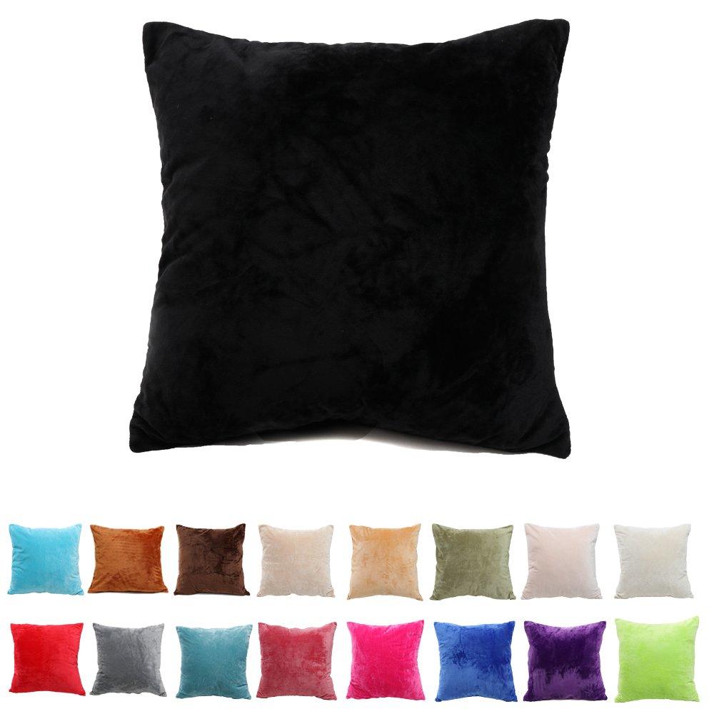 (プレング) Pleng枕カバー 装飾綿 とても柔らかく短いプラッシュのスローピローカバー ソファやオフィス用枕カバー ご家庭にぴったりのギフト 14