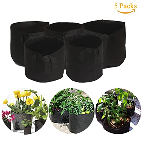 Nokire Grow Bags 7 Gallon Potato Planter Bag Aeration Fabric Grow Pots  Vegetable Patio, Growing