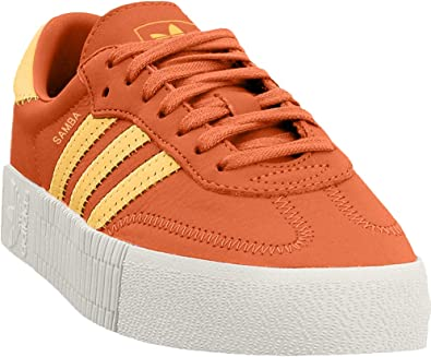 seno lana negar  Amazon.com | adidas SAMBAROSE Shoes Women's, Orange, Size 8 | Fashion  Sneakers