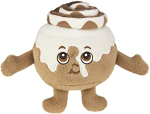 """Whiffer Sniffers Howie Rolls Super Sniffer, Large Food Shaped Plush Scented Cinnamon Roll, 11"""""""