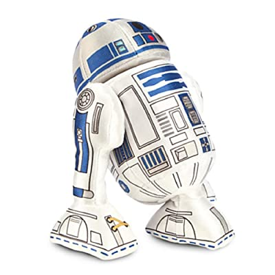 Disney R2-D2 Plush - Star Wars - Mini Bean Bag - 8'': Toys & Games