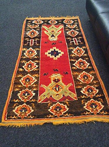 Handmade carpet by Berber women of Morocco