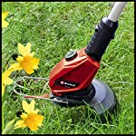 Einhell-GE-CT-18-Li-Solo-Power-Tosaerba-a-filo-cordless-X-Change-Li-Ion-18-V-larghezza-di-taglio-24-cm-8500-giri-min-testata-girevole-e-inclinabile-Flowerguard-senza-batteria-e-caricatore
