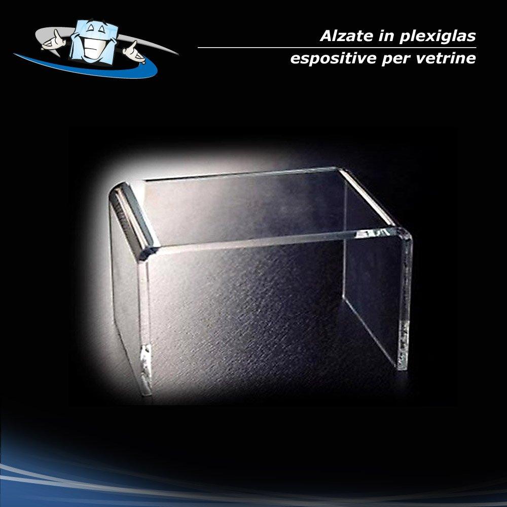 Circuito AUT AUT N. 1 Alzata espositiva per vetrine, ripiano in Plexiglass F.to L36 x P30 x 30H cm (unico formato)