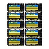 10PC Panasonic CR123A 3 Volt Photo Lithium Battery - Made in USA