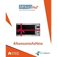 OneAssist 1 Year Extended Warranty Pro Plus  Plan for Microwaves Between Rs. 5,000 - Rs. 10,000