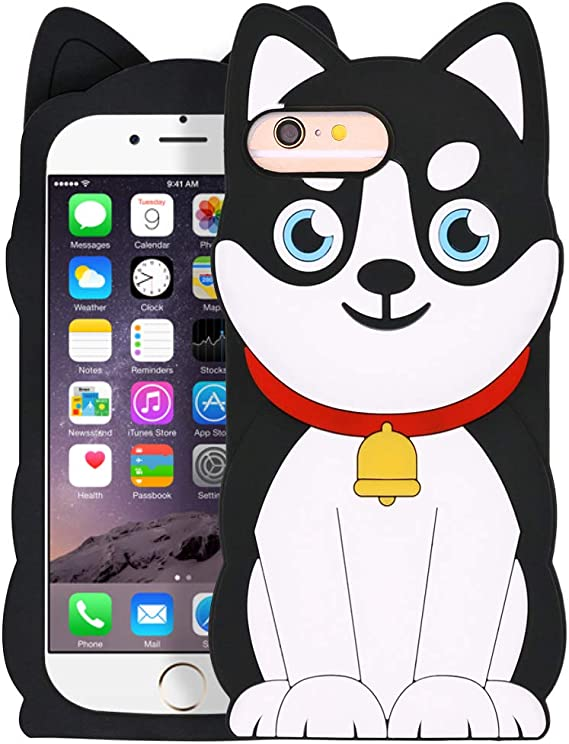 cover iphone 6s plus cartoon silicon