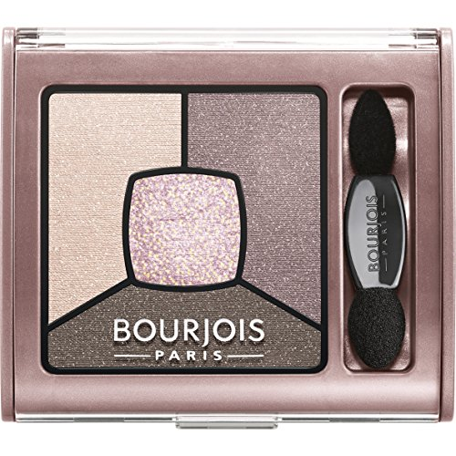 Bourjois Smoky Stories Quad Eyeshadow Palette, # 02 Over Rose, 0.11 Ounce (Rose Smoky)