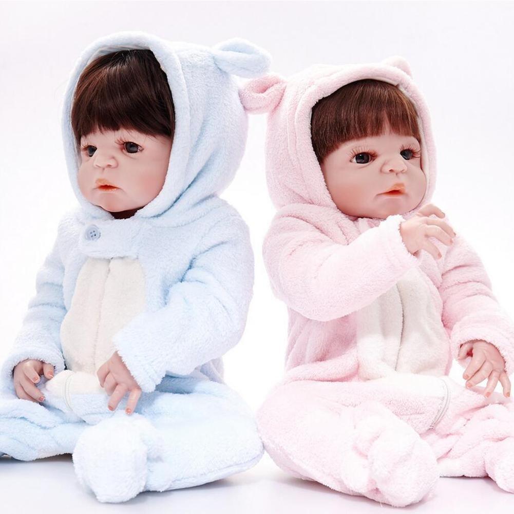 Amazon.com: hmhope realista Twins Reborn bebé muñeca ...