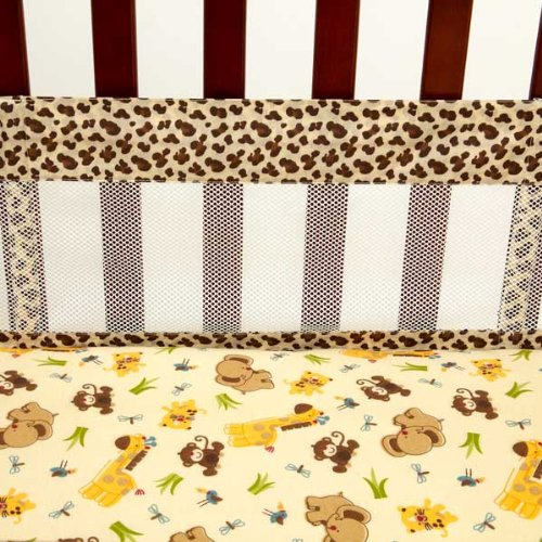 NoJo Little Bedding Secure Me Crib Liner