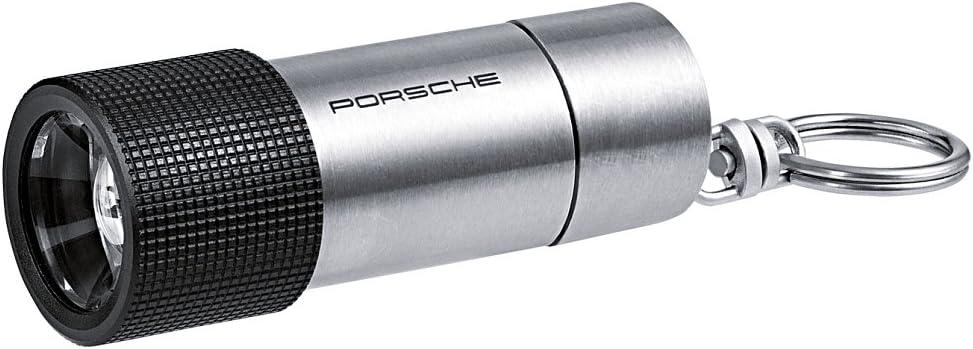 PORSCHE Design LED Akku Taschenlampe Flashlight Edelstahl Lampe NEU