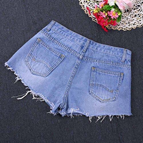 Pantaloncini Pantaloncini Blue Lilicat Lilicat Pants Pants Donna wFvqIadIx
