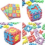 Alphabet Letters and Numbers Foam Puzzle Square