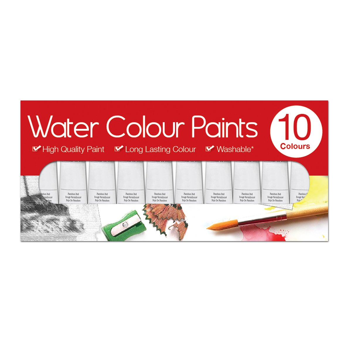 Artbox 6 ml tubes de peinture aquarelle (lot de 10) Tallon International Ltd 5137