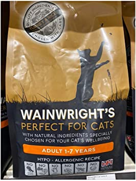 Wainwright S Adult Complete Dry Cat Food Turkey And Rice 1 5kg A Hypoallergenic Low Calorie And Low Fat Gentle Treats For Stomach Digestive Sensitivity And Obesity Weight Control Management Amazon Co Uk Pet Supplies