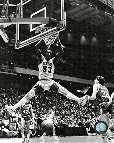 Darryl Dawkins Philadelphia 76ers NBA Action Photo (Size: 11'' x 14'') by NBA