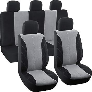 PREMIUM FULL SET LEATHER LOOK SEAT COVERS VW FOX 3d 06-