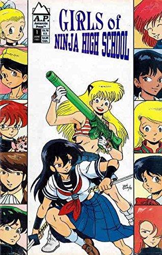 Amazon.com: Girls of Ninja High School #1 VG ; Antarctic ...