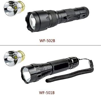 Für Surefire 6P G2 9P Taschenlampe Kaltweiß Hell Wenig Heizen XM-L T6 Neu