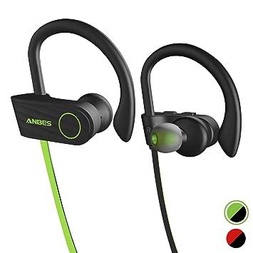 706c692970b Wireless Headphones, Anbes Bluetooth Headphones IPX7 Waterproof, Up to 8  Hours Play Time,