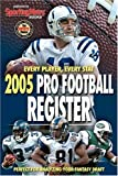 Pro Football Register 2005, Sporting News, STATS INC, 0892047747
